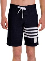 Thom Browne Striped Board Shorts