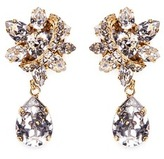 Erickson Beamon 'Parlor Trick' Swarovski crystal pear drop earrings