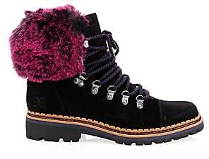 f392aabb38fb6 Faux Fur Hiking Boots - ShopStyle Canada