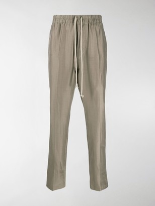Rick Owens Astaire high rise slim fit track pants