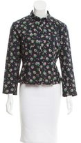 See by Chloe Floral Printed Pleated Jacket