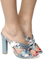 Office Hostess Knot Front Mule