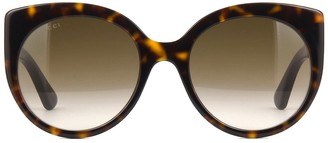 Gucci Gg0325s Havana Sunglasses