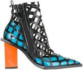 Marques Almeida Marques'almeida lattice ankle boots
