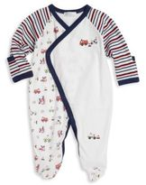 Kissy Kissy Baby's First Responder Pima Cotton Footie