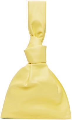 Bottega Veneta Yellow The Mini Twist Pouch
