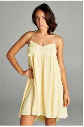 A Peach Sunshine Serenade Dress