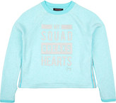 Juicy Couture My Squad jersey sweatshirt 4-14 years