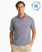 Southern Tide Bimini Striped Performance Polo Shirt