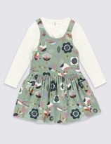 Marks and Spencer 2 Piece Pure Cotton Outfit (1-7 Years)