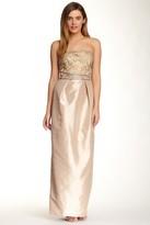 Sue Wong Embellished Taffeta Gown N3445
