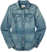 Ralph Lauren Denim Western Shirt