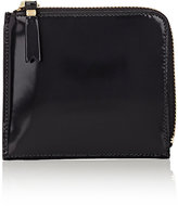 Comme des Garcons Men's Half-Zip Wallet-BLACK, BLUE