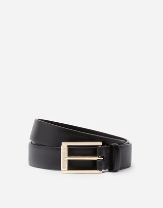 Dolce & Gabbana Lux Leather Belt