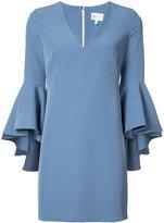 Milly v-neck dress - women - Polyester/Spandex/Elastane - 2