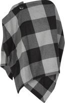 Vivienne Westwood Rectangle wool-blend asymmetric top