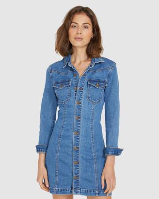 Insight Madison Stretch Denim Dress
