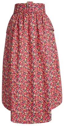 Camilla And Marc Mejella Abstract Floral Skirt