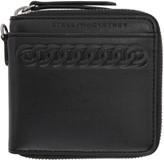 Stella McCartney Black Cord Zip Wallet