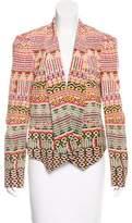 Rebecca Minkoff Printed Silk Blazer w/ Tags