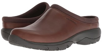 Merrell Encore Rexton Moc Leather AC+ (Dark Earth) Men's Slip on Shoes