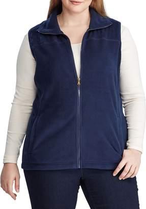 Chaps Plus Quilted Fleece Vest