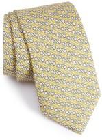 Vineyard Vines Men's Lacrosse Stick Print Silk Tie