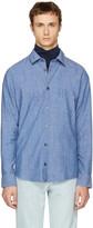 A.P.C. Indigo 'Winter 87' Shirt