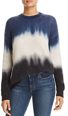 Bloomingdale's C By C by Dip-Dye Brushed Cashmere Sweater - 100% Exclusive