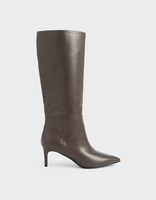 Charles & Keith Knee High Boots