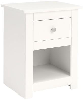 Radley 1 Drawer Bedside Chest - White