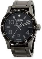 Nixon Stainless Steel Swiss Bracelet Watch