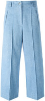 Barbara Bui wide-legged cropped jeans - women - Cotton - 36
