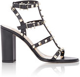 Valentino Women's Rockstud Triple-Strap Sandals