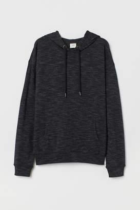 H&M Jersey Hooded Shirt