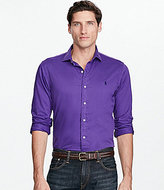 Polo Ralph Lauren Solid Twill Estate Long-Sleeve Woven Shirt