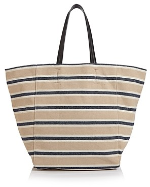 Aqua Canvas Over-Sized Tote - 100% Exclusive