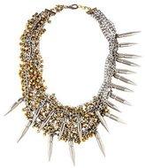 Assad Mounser Bullet Multistrand Chain Necklace