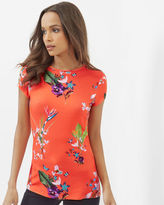 Ted Baker Tropical Oasis fitted Tshirt