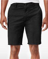 American Rag Men's Big & Tall Stretch Raw-Edge Twill Shorts, Only at Macy's