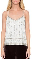 Willow & Clay Women's Strappy Beaded Camisole
