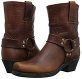 Frye Harness 8R (Cognac Washed Oiled Vintage) Women's Pull-on Boots