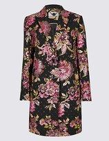 Per Una Floral Jacquard Coat