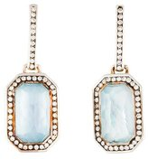 Ippolita Stella Topaz, Mother of Pearl & Diamond Drop Earrings