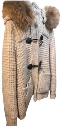 BLK DNM Beige Wool Jacket for Women