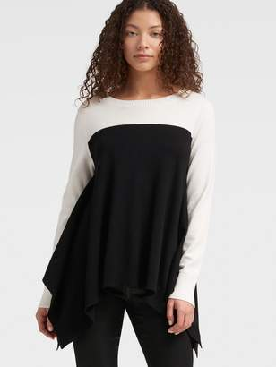 DKNY Trapeze Colorblock Pullover