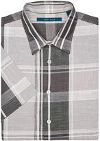 Perry Ellis Big and Tall Short Sleeve Chambray Shirt