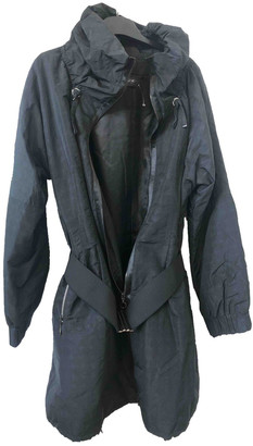 Georges Rech Black Polyester Coats