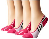 Kate Spade Music Notes Liner Scuba Stripes 4-Pack Liner Women's Crew Cut Socks Shoes