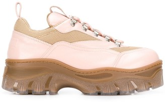 MSGM Tractor chunky sneakers